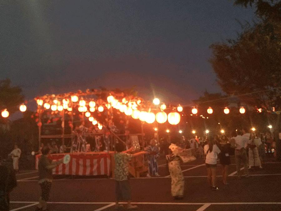横須賀市芦名の8月のイベント納涼盆踊り大会