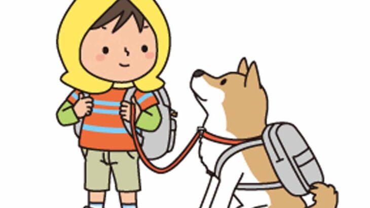 愛犬へそと同行避難訓練!?