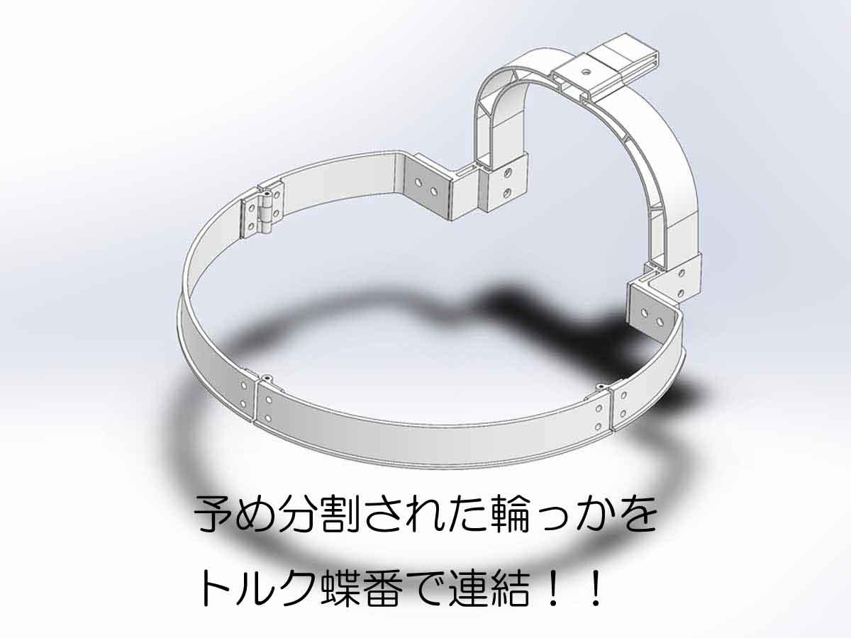 耐衝撃タイプの輪っかイメージ画像