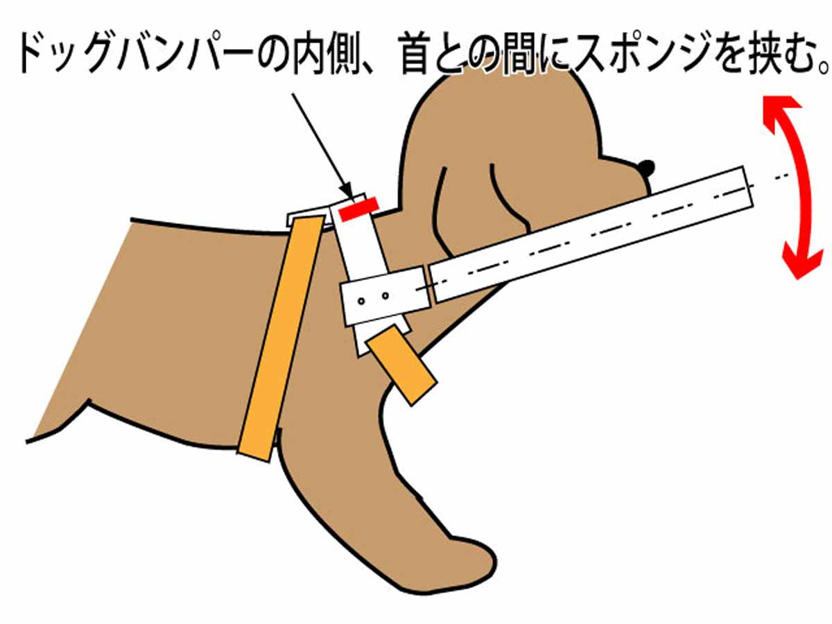 輪っかを上げる説明画像