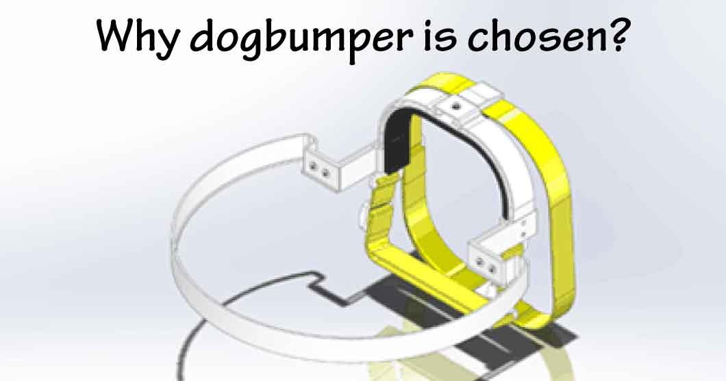 盲目犬の補助グッズとして弊社のドッグバンパーが選ばれる理由イメージ画像
